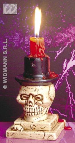Totenkopf Kerzenleuchter von Widmann