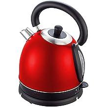 1,8 L 2200W Wasserkocher Wasserkessel Kessel Kocher Teekocher Edelstahl 360° Farbe Rot