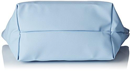 Lacoste NF2037PO, Borsa a Tracolla Donna, 24.5 x 14.5 x 23.5 cm Powder Blue