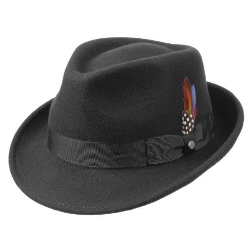 elkader-cappello-trilby-stetson-fedora-cappello-da-uomo-xl-60-61-nero