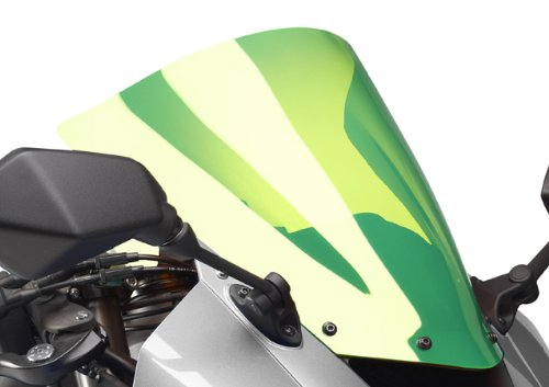 Aprilia RS412510–16/RSV4APRC 09–16/RSV4Factory 09–16/RS45014–16/RS450Replica 09–16/RS4125Replica 09–16/RSV4RF 15–16/Iridium grün Airflow Bildschirm