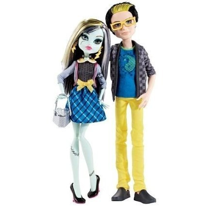 Monster High Picknick Set 2 Pack - Jackson Jekyll und Frankie Stein - (Jackson Jekyll High Monster)