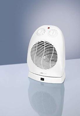 Heizlüfter mit 2000 Watt, Kombigerät, Heizgerät + Ventilator, Heizung mit Sicherem Stand und Bewegungsgelenk zum Oszillieren, 2 Heizstufen + 1 Kaltsufe, NEU + OVP von Clatronic - Heizstrahler Onlineshop