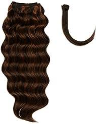 chear italien Body Wave Extensions capillaires Cheveux Humains avec extension de mélange tissage, Nombre P1B/30...