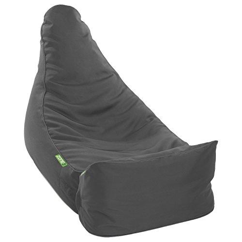 Sitzsack 'ZONE3' Komfort grau - Beanbag für Gaming & Chill Out (Modul 1+3)