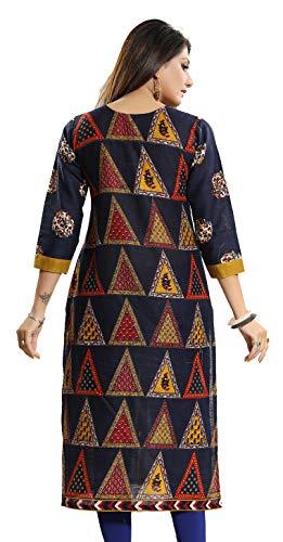 Meher Impex Multicolor Cotton Kurti for Women