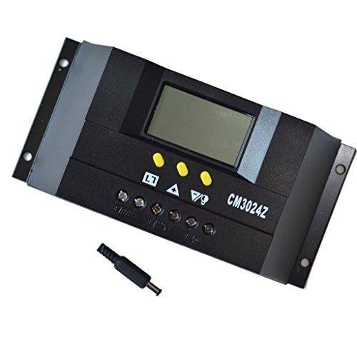 Fenteer 30A 12V -24V MPPT PWM Solar-Laderegler Solarregler Solarpanel mit LCD Anzeige
