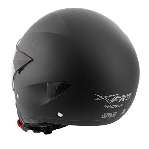 59-60 cm opzionale XL M per le quattro stagioni 61-62 cm L circonferenza testa 57-58 cm con occhiali e maschera rimovibili Casco semi-integrale da moto Zerone