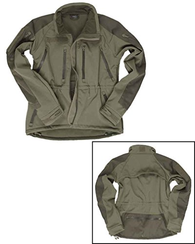 Mil-Tec Softshell Jacke Plus Oliv Gr.3XL