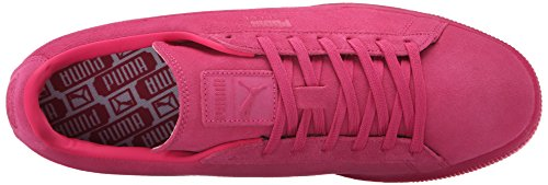 Puma Suede rilievo ghiacciato Fluo Fashion Sneakers Beetroot Purple