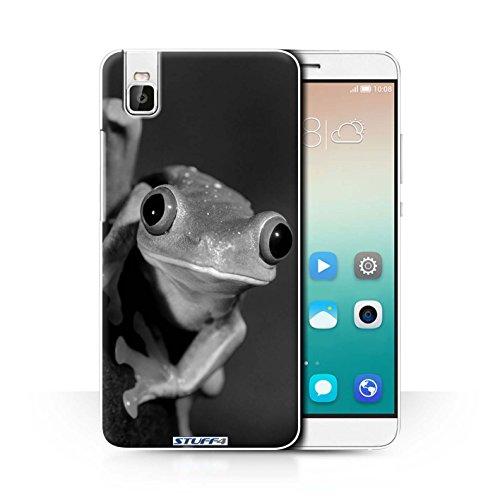 Stuff4 Hülle / Case für Huawei Honor 7i/ShotX / Frosch Muster / Zoo-Tiere Kollektion