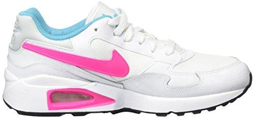 Nike Air Max St, Scarpe Running Bambina Bianco (White/Pink Blast-Gmm Blue-Blk)