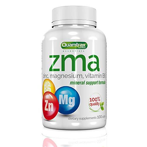 Quamtrax Nutrition Zma - 100 capsulas