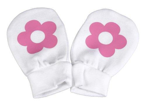 Spoilt Rotten Spoilt Rotten - Flower Design 100% Baumwolle Kratzhandschuhe Fäustlinge Handschuhe