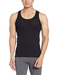 Force NXT Mens Cotton Vest (8902889608990_MNFR-236_Large_Black)