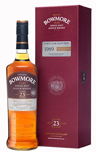 Bowmore 23 Jahre 1989 Port Cask Matured Limited Release mit Geschenkverpackung Single Malt Scotch Whisky (1 x 0.7 l)