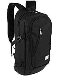 MagiDeal Business Travel Canvas Outdoor Sport Rucksack Camping School Laptop Hiking Bag Backpack Carrying Bag
