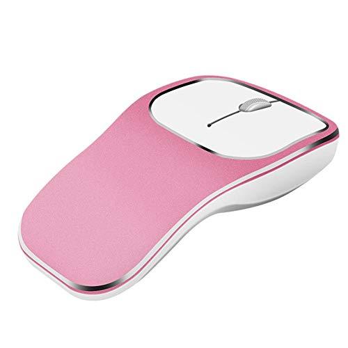 Sturdy-C Kabellose Maus Computermaus Bluetooth Maus 2,4 GHz kabellos wiederaufladbar Maus geräuschlos kompakt geräuschlos optische Gaming Maus mit DPI 1600 Nano USB Empfänger für PC und Mac - Kompakte Optische Maus