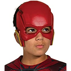 DC Justice League - Máscara de Flash para niños, accesorio disfraz licencia oficial, talla única 3-10 años (Rubie's 34273)