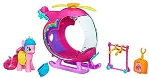 My Little Pony - A5935E240 - Poupée - Coffret - Hélicoptère Arc En Ciel + Pinkie Pie - Coloris aléatoire