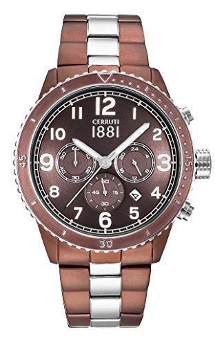 Cerruti Mens Watch cra104sbr12mbrt