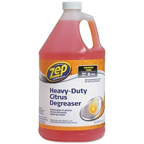 ZPE ZUCIT128CA Citrus Cleaner and Degreaser, Citrus Scent, 1 gal Bottle by Zep Commercial