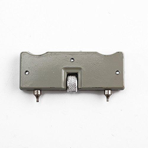 Pethot Coque décapsuleur pour regarder kit d'outil de vis de remplacement de la pile Coque arrière réglable