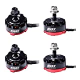 SHINA 4pcs EMAX RS2205 2600KV Brushless Motor 2CW 2CCW für QAV250 QAV300 FPV Racing Quadcopter