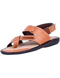 Andrew Scott Men's Beige Sandal