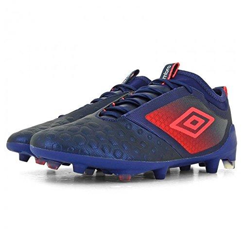 Erwachsene Stiefel Fußball Umbro Ux Accuro II Pro Sohle FG lila/pink, dunkelviolett, 41