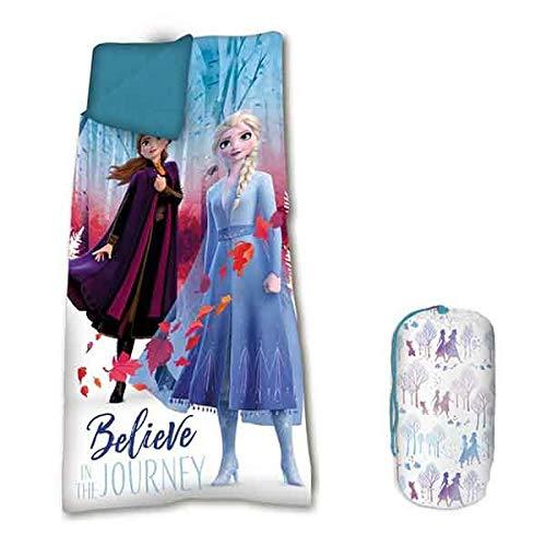 Desconocido Frozen 2 Saco Dormir Infantil 138 cm