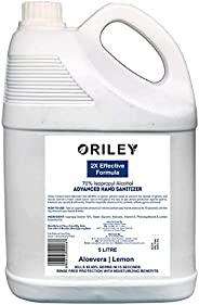 ORILEY Instant Hand Sanitizer 70% Isopropyl Alcohol Based Liquid Rinse-free Non-Sticky Skin-Friendly Germ Prot