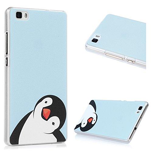 Custodia per Huawei P8 Lite (No per Huawei P8) cover rigida custodia macchia, YOKIRIN Case Cover in PC Dipinto Protettiva Portafoglio Protettivo Copertura