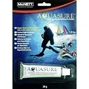 416Ao4BS5OL. SS300  - McNett Unisex's Aquasure McNett-Aquasure-Watersport-28 gr, Black, 28 g