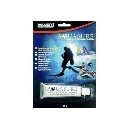 McNett Unisex's Aquasure McNett-Aquasure-Watersport-28 gr, Black, 28 g