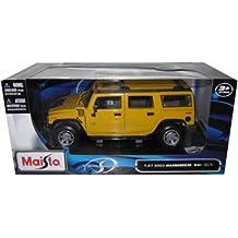 Maisto 31231 - Hummer H2 SUV 03 1:27 (farblich sortiert)