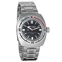 Vostok 2415de anfibios 090916Militar ruso reloj mecánico de Vostok Amphibian