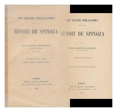 Benoit De Spinoza / Par Paul-Louis Couchoud