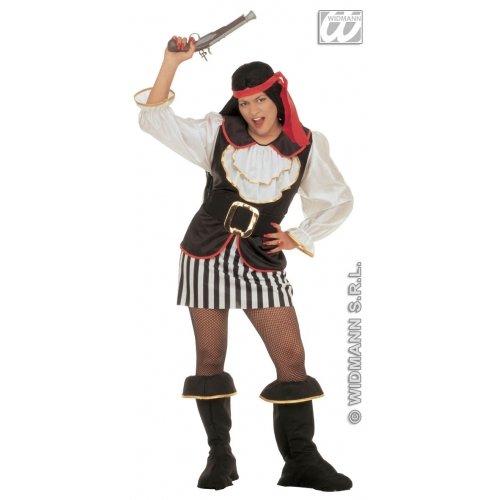 Kostüm Eine Pirate Lady - Widman Pirate Lady - Adult Kostüm - XL
