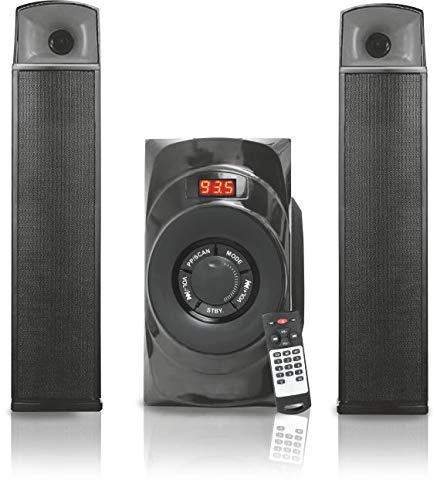 Oshaan CMPL-24 (2.1 BT-BAR) Bluetooth Multimedia Speaker with 2.1 Channel Speaker Dual Usage