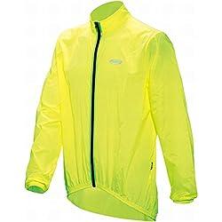 BBB Baseshield Chubasquero De Ciclismo Para Hombre Color Amarillo Neón Talla L