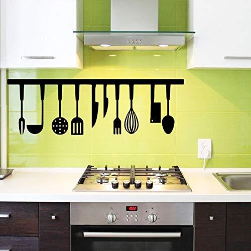 SLQUIET Accessori da Cucina Adesivi murali Adesivi da Cucina Rimovibili Adesivi murali Carta da Parati Adesivi murali Moda da Giardino caffè L 30 cm X 94 cm