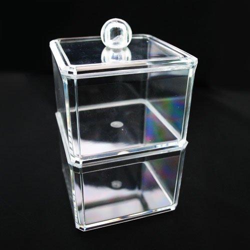 Beauty Acrylic Cosmetic Organizer cotton ball Holder 1182 by Beauty Acrylic (Holder Ball Acrylic Cotton)