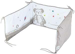 Lulu castagnette tour de lit baby bear 37 x 187 cm b b s pu riculture - Linge de lit lulu castagnette ...