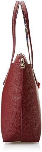 piero guidi 210913089, Borsa a Tracolla Donna, 34,5 x 29,5 x 14 cm (W x H x L) Rosso (Rosso Bulgaro)