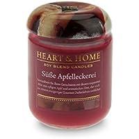 Heart & Home Duftkerze Klein Süße Apfelleckerei - 115 g preisvergleich bei billige-tabletten.eu