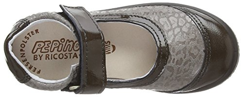 Ricosta Jill M 62, Mary Jane Fille Gris (altsilber/steel Grey)