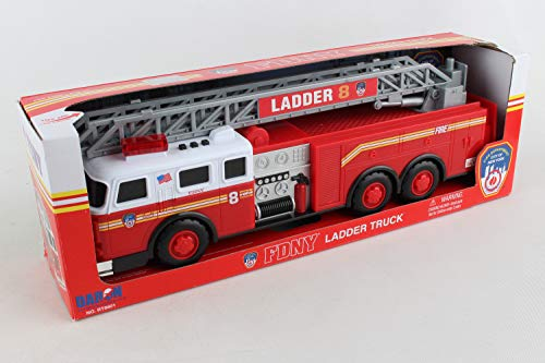 Daron FDNY Ladder Truck with Lights and Sound by Daron World wide Trading Inc.