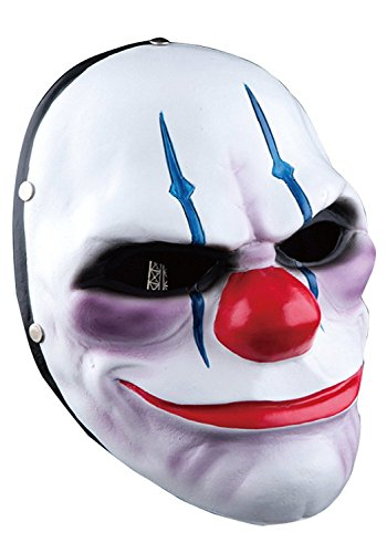 Kaninchen Tanz Kostüm (ShallGood Unisex Halloween Kostüm Maske Latex Maske Cosplay Lustig Horrible Stil Alle Heiligen Tag Anime Maske Scary Kaninchen Clown Monster #2 One)