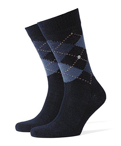 Burlington Herren Socken Preston, Gr. 40/46 (Herstellergröße: 40-46), Blau (dark navy 6375) -